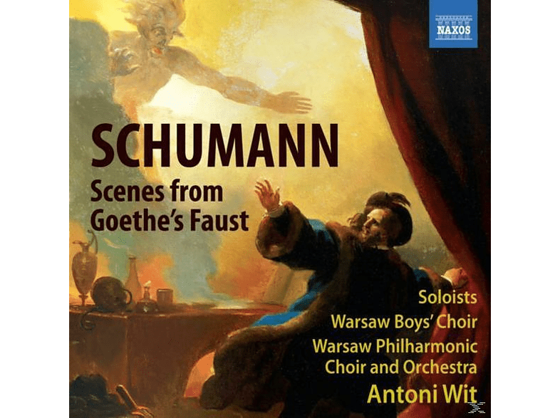 VARIOUS, Wit Antoni, Warschau Philharmonic Choir And Orchestra, Antoni/warschau Po Wit - Szenen Aus Goethes Faust [CD]