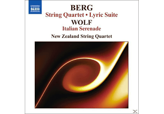 The New Zealand String Quartet - Streichquartett/Lyr.Suite - (CD)