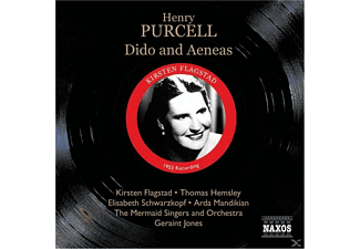 The Jones, Schwarzkopf, Flagstad, Flagstad/Schwarzkopf/Jones - Dido And Aeneas - (CD)