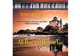 STEINER,MAX/STROMBERG,WILLIAM/MOSKAU SO+CHOR, William/moskau So+chor Stromberg - All This,And Heaven Too/A Stolen Life - (CD)