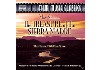 Tony Stromberg, William/moskau So+chor Stromberg - Treasure Of The Sierra Madre - (CD)