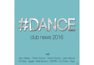 VARIOUS - #dance Vol.2-Club News 2016 - (CD)