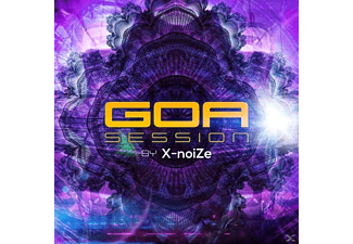 VARIOUS - Goa Session-By X-Noize - (CD)