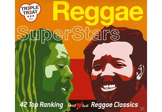 VARIOUS - Reggae Superstars (42 Top Ranking R - (CD)