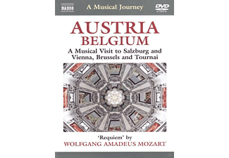 Austria / Belgium - A Musical Visit To Salzburg And Vienna, Brussels And Tournai - (DVD)