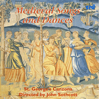 ST. GEORGE'S Canzona - Medieval Songs And Dances [CD]