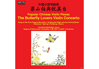 Nishizaki Takako - Popular Chinese Violin Pieces- The Butterfly Lovers Violin Concerto [CD]