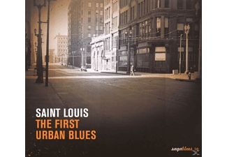 VARIOUS - ST LOUIS BLUES-FIRST URBAN BLUES - (CD)