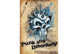 VARIOUS, PUNK AND DISORDERLY VOL.1 - Punk And Disorderly Vol.1/Dvd [DVD]