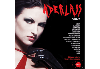 VARIOUS - Aderlass Compilation Vol.7 - (CD)