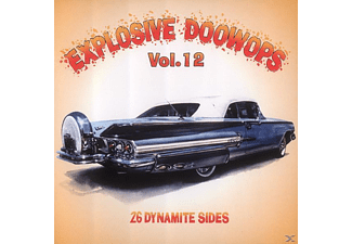 VARIOUS - Vol.12, Explosive Doo Wop - (CD)