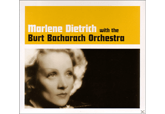Marlene Dietrich - With The Burt Bacharach Orchestra - (CD)