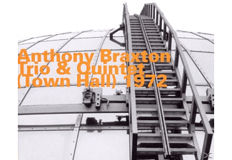 Anthony Braxton - Trio & Quintet (Town Hall) 1972 - (CD)