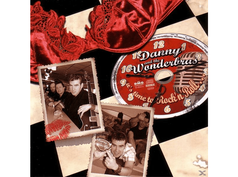 Danny And The Wonderbras - It's Time To Rock'n'roll [CD]