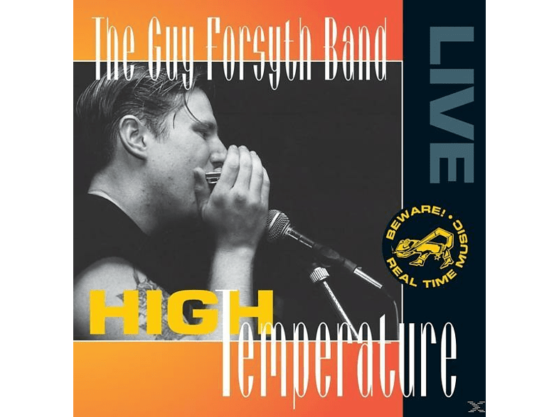 Guy Forsyth Band - High Temperature [CD]