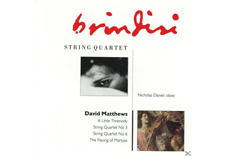 Brindisi Quartet - String Quartet - (CD)
