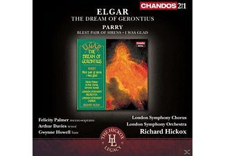 Palmer/Davies/Howell, Hickox/Palmer/Davis/Howell/LSO/London Symphony Ch. - The Dream of Gerontius/Blest Pair of Sirens/+ - (CD)
