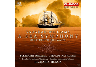 Finley, Gritton/Finley/Hickox/LSO/+ - Sea Symphony/Ouvert.The Wasps - (SACD Hybrid)