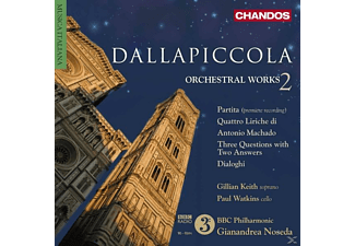 Paul Watkins, Bbc Philharmonic Orchestra, Gillian Keith - Orchesterwerke Vol.2 - (CD)