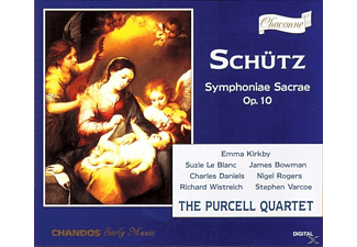 The Purcell Quartet - Symphoniae Sacrae op.10 - (CD)