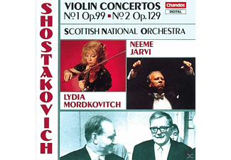 MORDKOVITCH/ROYAL SCOTTISH NATIONAL, Mordkovitch/Järvi/SNO - Violinkonzerte 1+2 - (CD)
