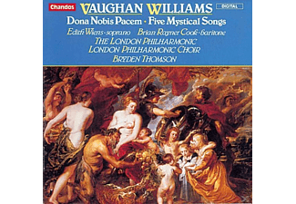WIENS/RAYNER COOK/LONDON PHILAHARMO, Wiens/Cook/Thomson/LPO U.Chor - Donna Nobis Pacem/5 Mystical S - (CD)