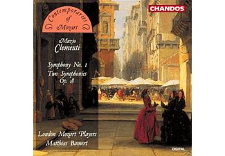 London Mozart Players, Matthias Bamert - Sinfonie 1 C-Dur Wo 32/B-Dur - (CD)