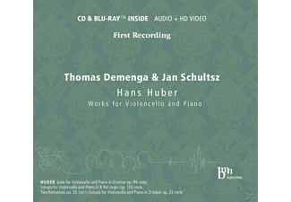 Thomas Demenga, Jan Schultsz - Works For Violoncello And Piano - (CD + Blu-ray Disc)