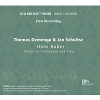 Thomas Demenga, Jan Schultsz - Works For Violoncello And Piano [CD + Blu-ray Disc]