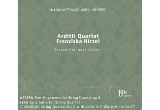 Franziska Hirzel, Arditti Quartet - Second Viennese School - (CD + Blu-ray Disc)