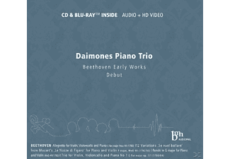Daimones Piano Trio - Beethoven Early Works - (CD + Blu-ray Disc)