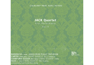 Jack Quartet - First Performence Vol.4 - (CD + Blu-ray Disc)