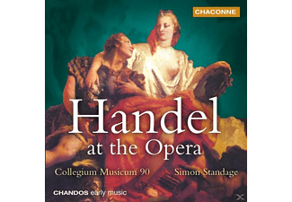 Cm90, Simon/cm90 Standage - Handel At The Opera - (CD)
