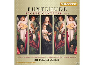 Emma Kirkby / Michael Chance / The Purcell Quartet - Geistliche Kantaten Vol.2 - (CD)