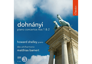 Howard Shelley, BBC Philharmonic - Klavierkonzerte 1 & 2 - (CD)