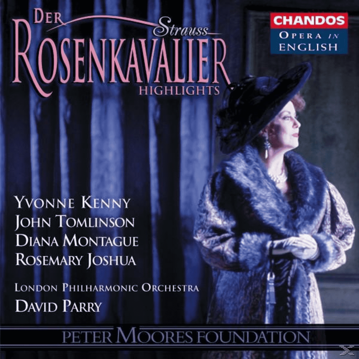 Der Rosenkavalier (QS) Sir Charles Hubert Hastings Parry, Lpo, Geoffrey M.Choir, Parry/LPO/Geoffrey M.Choir auf CD