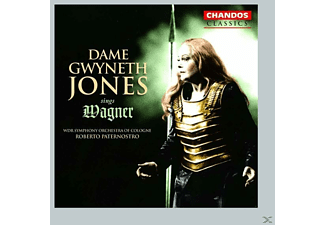 Dame Gwyneth Jones, Jones/Paternostro/WDR SO - Gwyneth Jones Sings Wagner - (CD)