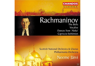 SCOTTISH NATIONAL ORCH AND CHORUS/P, Neeme/pol/sno Järvi - Vocalise/Die Glocken op.35/+ - (CD)