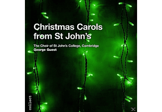 Th Choir Of St. John S College Cam, Choir Of St. John's College - Christmas Carols From ST John - (CD)
