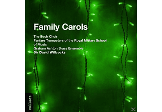 The Bach Choir/graham Ashton Brass, Bach Choir/Wilcocks/+ - Family Carols - (CD)