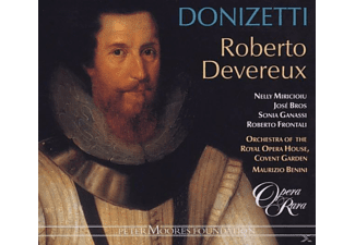 VARIOUS - ROBERTO DEVEREUX - (CD)