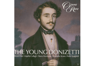 Kenny, Ford, Francis, Montague, Allemandi, Parby - Der Junge Donizetti - (CD)