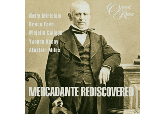 Miles - Mercadante Rediscovered - (CD)