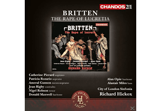 Catherine Pierard, Ameral Gunson, Jean Rigby, Nigel Robson, Donald Maxwell, Alan Opie, Alastair Miles, City Of London Sinfonia, Patricia Rozario - The Rape Of Lucretia - (CD)
