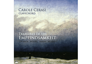 Carole Cerasi - Treasures of the Empfindsamkeit - (CD)