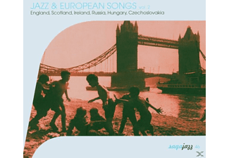 VARIOUS - Jazz & European Songs Vol.2 - (CD)