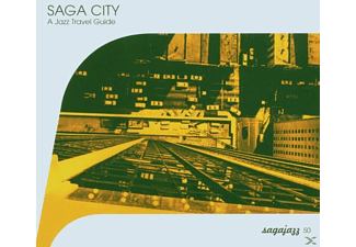 VARIOUS - Saga City-A Jazz Travel Guide - (CD)