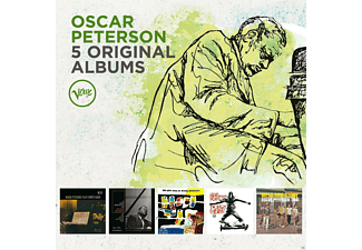 Oscar Peterson - 5 Original Albums - (CD)