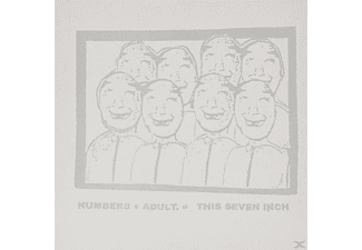Numbers, Adult - This Seven Inch (Split) - (Vinyl)