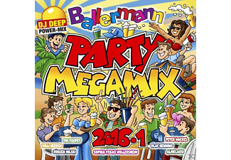 VARIOUS - Ballermann Party Megamix 2016.1 - (CD)